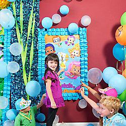 Bubble Guppies Pin It Game Idea
