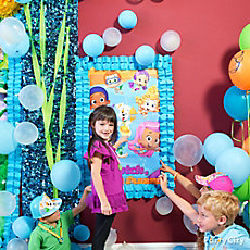 Bubble Guppies Pin It Game Idea
