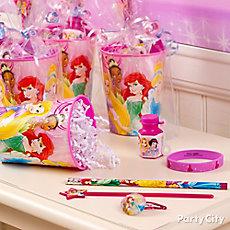 Dinsey Princess Favor Cup Idea