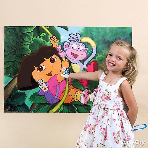 Dora Pin-It Game Idea
