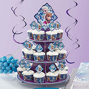 Frozen Cupcakes How To