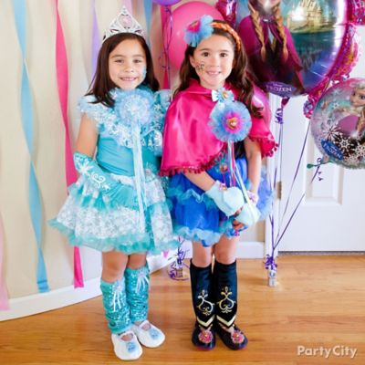 Frozen Birthday Outfit Idea