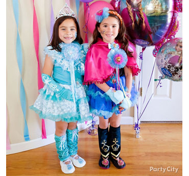 Disney frozen party ideas party city party city frozen birthday outfit idea stopboris Image collections