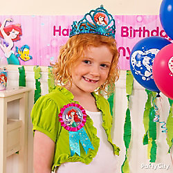 Little Mermaid Birthday Outfit Idea