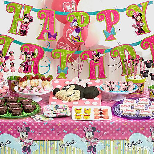Minnie Mouse Treats Table Idea