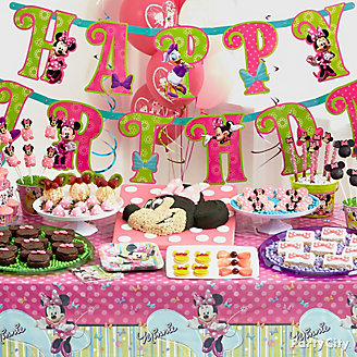 Get Inspired Minnie Mouse Treats Table Idea