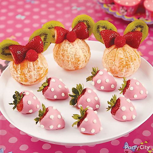Minnie Mouse Fruit Ears How To