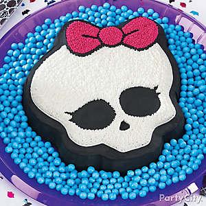 Monster High Skullette Cake How To