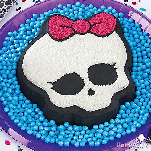 Monster High Skullette Cake How To