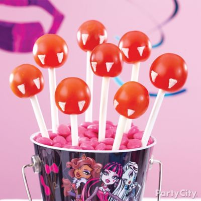 Monster High Vampire Tomato Pops How To