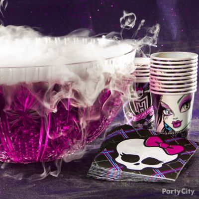 Monster High Drink Idea