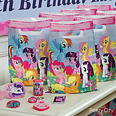 My Little Pony Favor Pack for 8 Idea