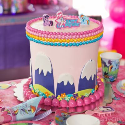 My Little Pony Fondant Cake How To Party City