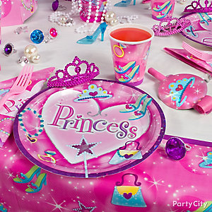 Princess Place Setting Idea