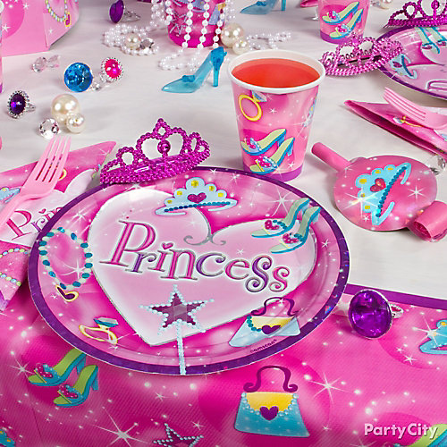 Princess Place Setting Idea