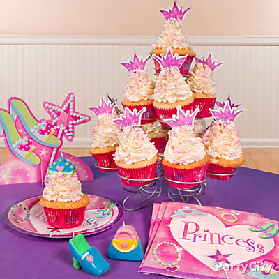 Princess Cupcake Tower Idea