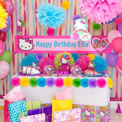 Hello Kitty Party Ideas Party City Party City