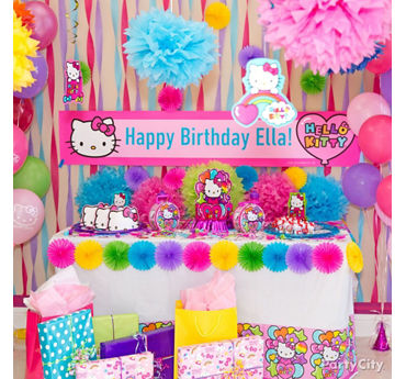 Hello Kitty Gift Table Idea  sc 1 st  Party City & Hello Kitty Party Ideas - Party City | Party City