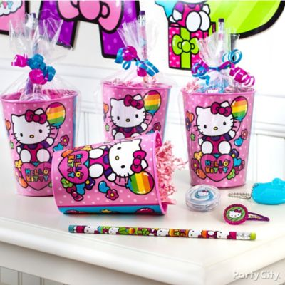 Hello Kitty Favor Cup Idea