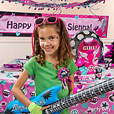 Rocker Girl Birthday Outfit Idea