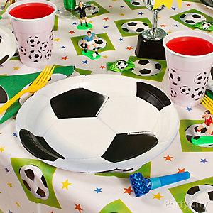 Soccer Place Setting Idea