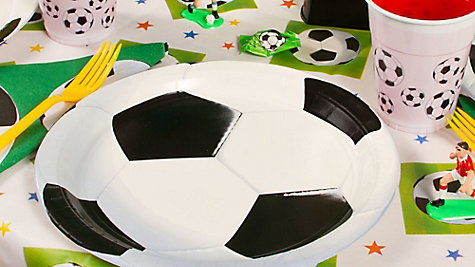 Soccer Place Setting Idea