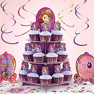 Sofia the First Cupcake Tower How To
