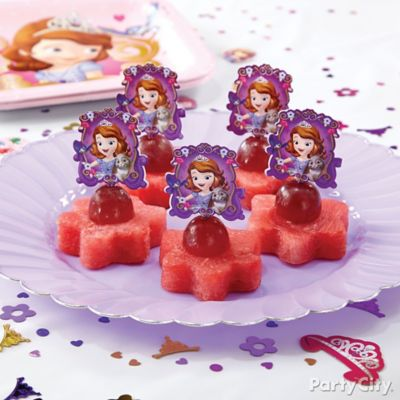 Sofia the First Fruit Flowers How To