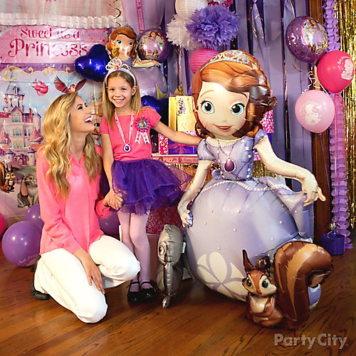 Sofia the First Gliding Balloon Idea