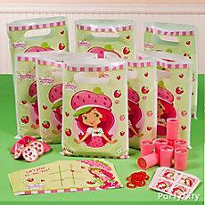 Strawberry Shortcake Favor Pack for 8 Idea