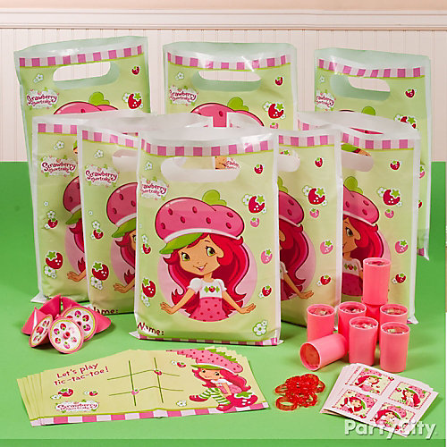 Strawberry Shortcake Favor Pack for 8 Idea