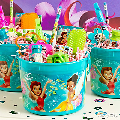 Tinker Bell Favor Bucket Idea