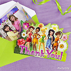 Tinker Bell Thank You Note Idea