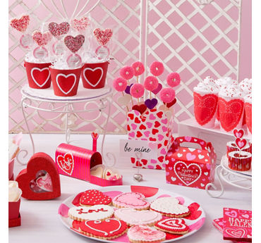 Valentines Day Dainty Treat Display Idea
