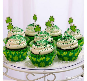 St. Paddy's Cupcakes Idea