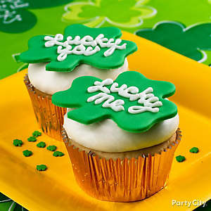 Shamrock Cupcakes How To