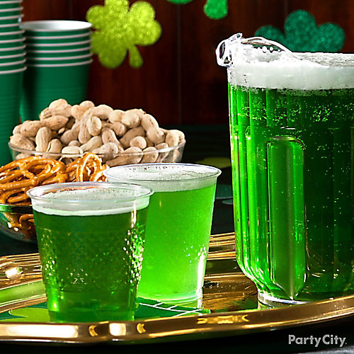 St. Paddy's Drink Display Idea