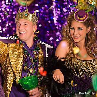 Mardi Gras King Queen Costume Ideas