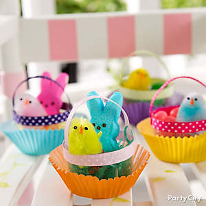 Mini Easter Basket DIY
