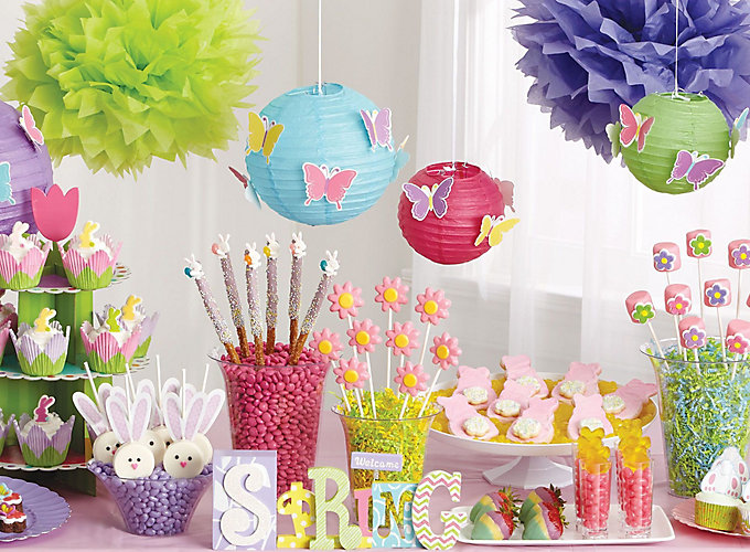 spring treat ideas - Spring Party Decorating Ideas
