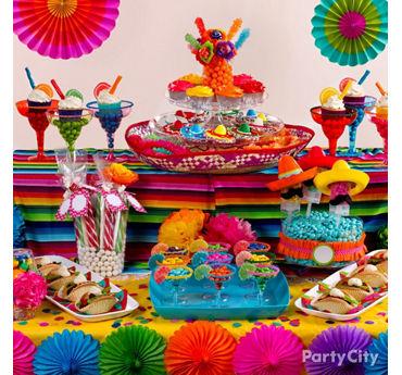 Fiesta Treats Table Idea