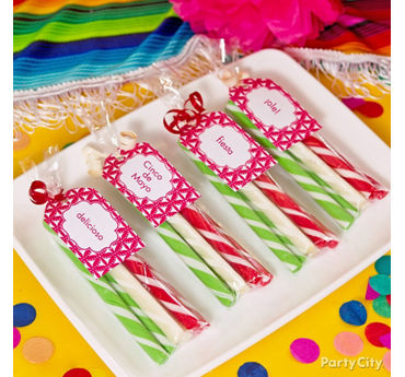 Mexican Party Candy Favors Idea