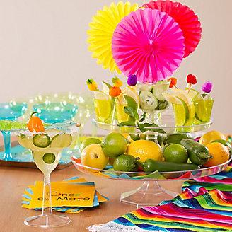 Cocktail Garnishes Display Idea