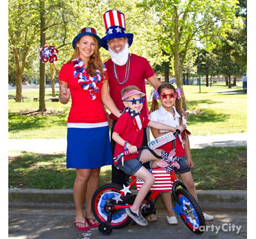 4th of July Family Portrait Ideas