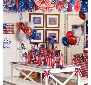 4th of July Room Decorating Ideas