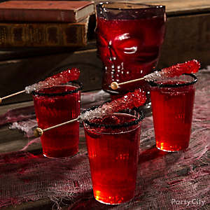 Bloody good drink ideas party city Good halloween cocktails