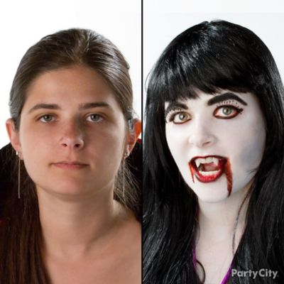 Glamorous Vampire Makeup How To
