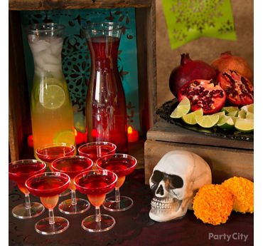 Day of the Dead Sangria Idea