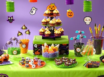 kid friendly halloween treats how tos - Halloween Decorations For A Party