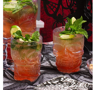 Halloween Bloody Moscow Mule Cocktail Recipe